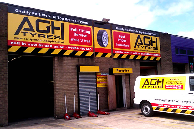 AGH Tyres Ltd Northampton Tyre Garage